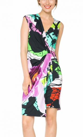 61V2LC4_4036 Desigual Lacroix Dress Irea