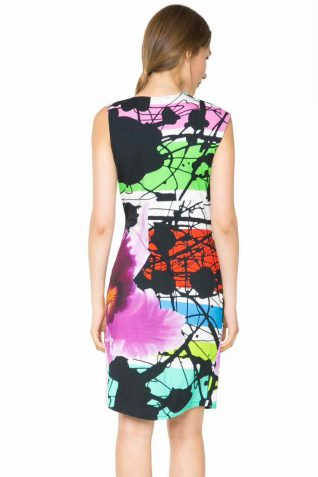 61V2LC4_4036 Desigual Lacroix Dress Irea back