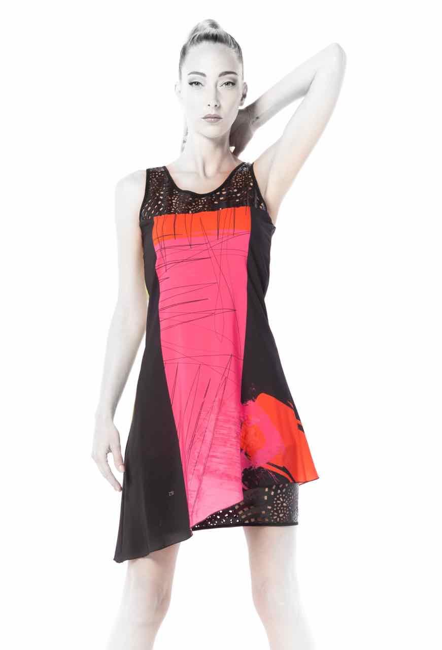 VOLT Dress 316 SAK WB front