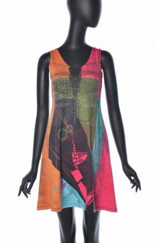VOLT Dress 324 DEMOISELLE SS front Buy Online