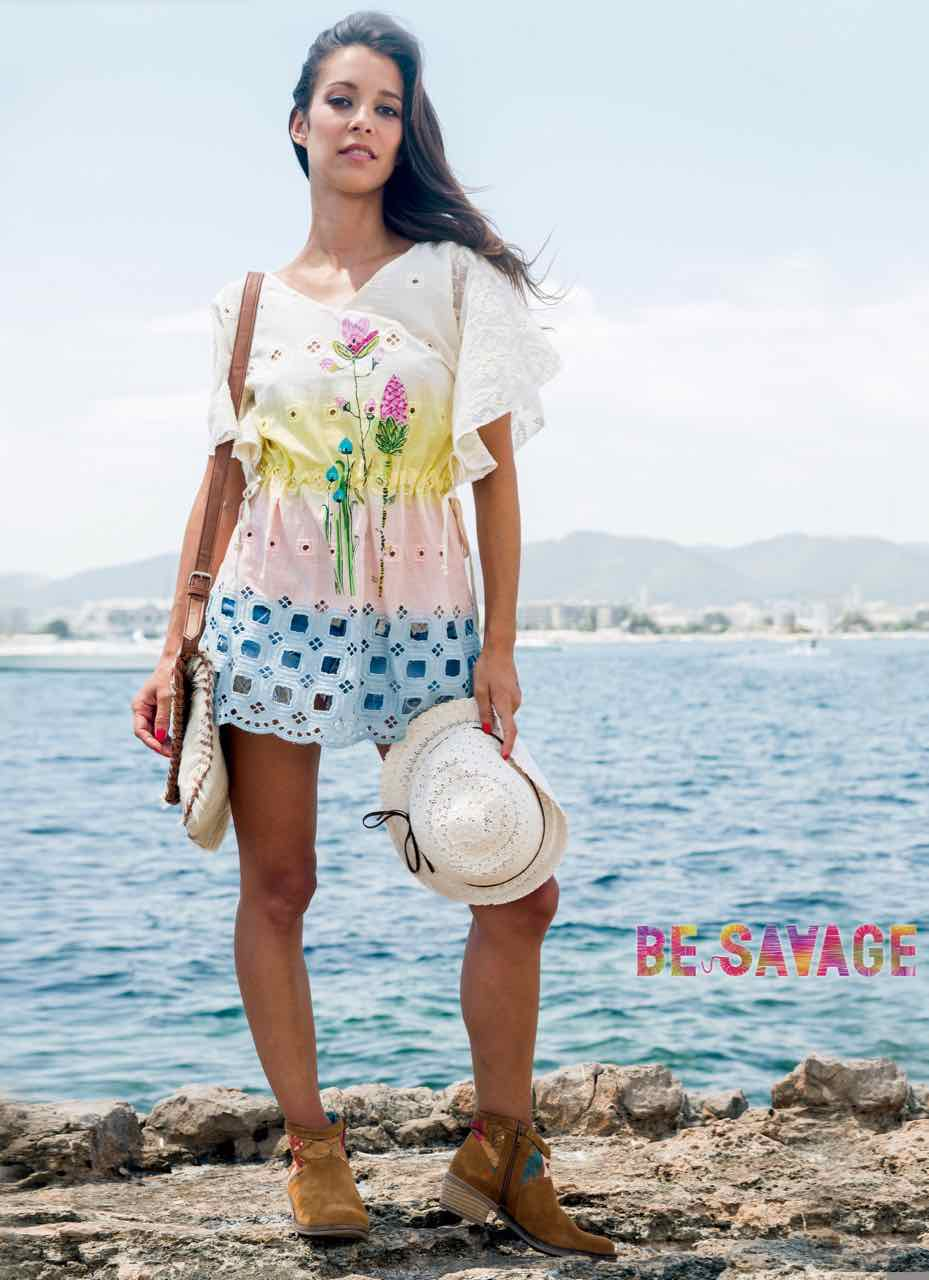 Savage Culture Summer Blouse