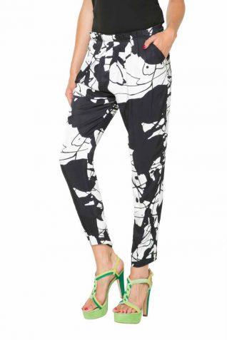 61P2LA6_1000 Desigual Lacroix Pants Derram Buy Online
