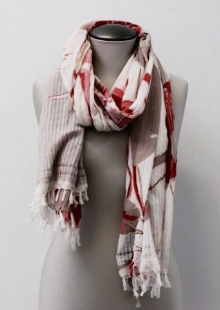 Moment by Moment Scarf Edmunda Powder Pinks Buy Online