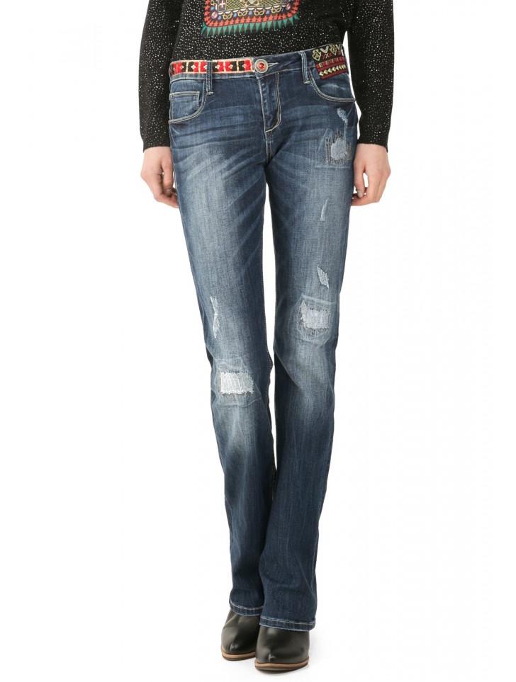 Desigual Jeans Nai, Ethnic Design