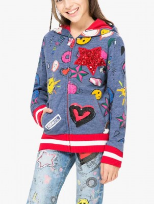 67S34E0_5006 Desigual Girl Sweater Euripides Buy Online