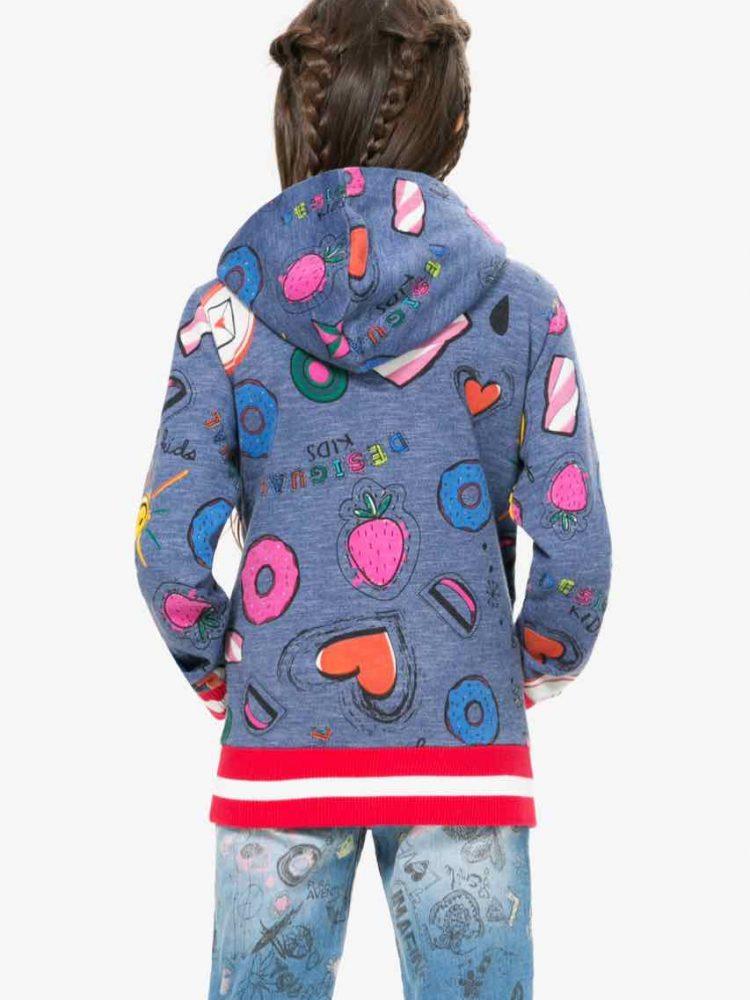 67S34E0_5006 Desigual Girl Sweater Euripides