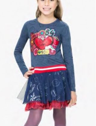 67V32A1_5006 Desigual Girl Dress Argel Buy Online