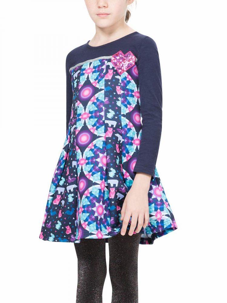 67V32B8_5127 Desigual Girl Dress Banjul Buy Online