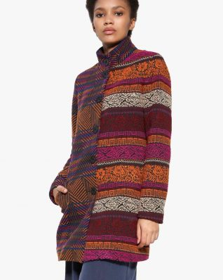 17WWEWH0_3189 Desigual Coat Marti Buy Online