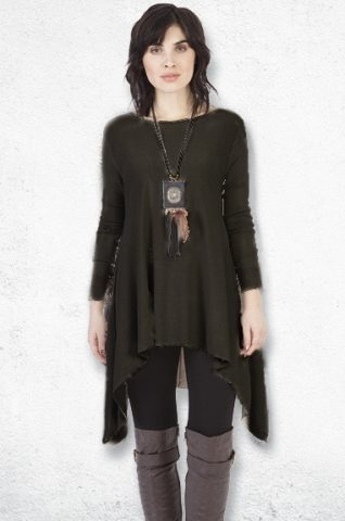 M Made in Italy Cashmere Sweater (black)