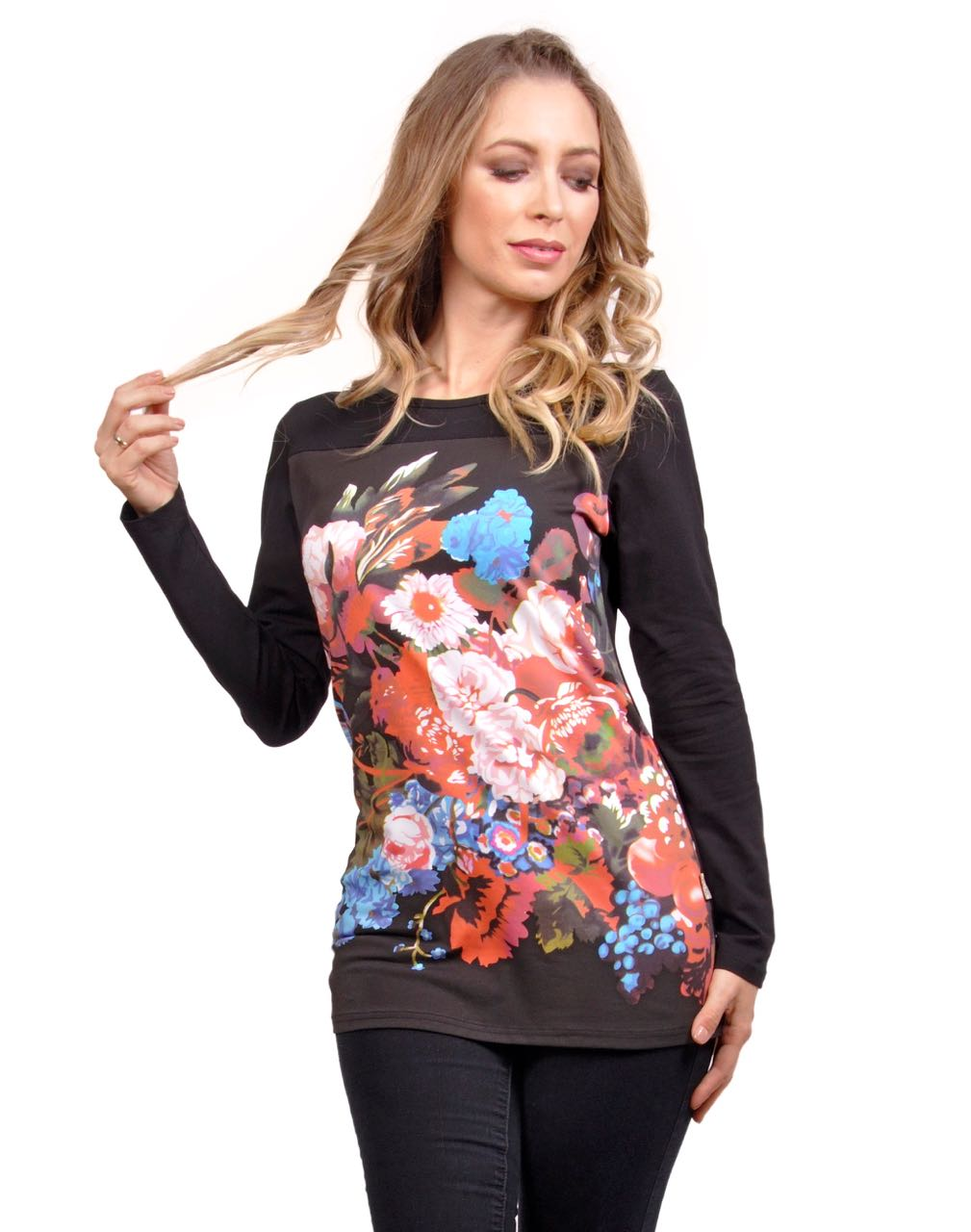 Savage Culture T-shirt Rene Chic 31037 Buy Online