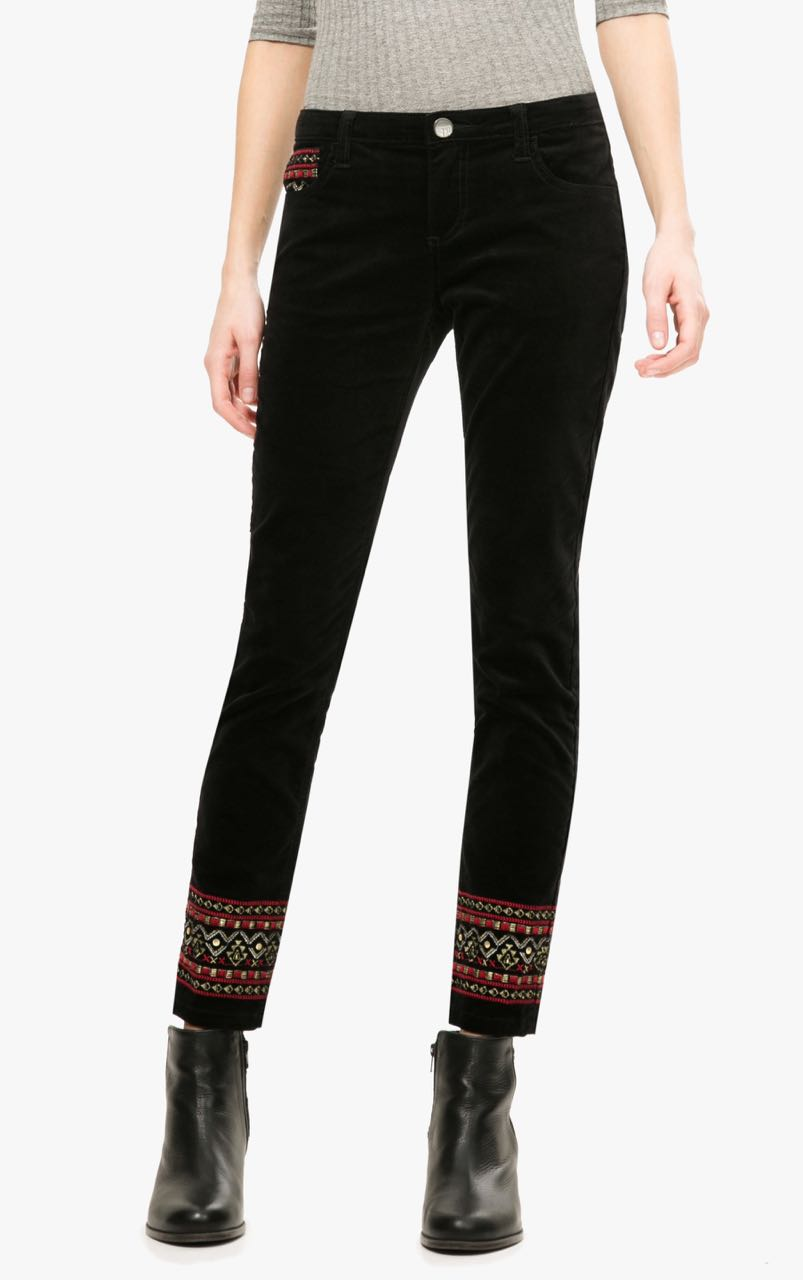 Desigual Black Trousers