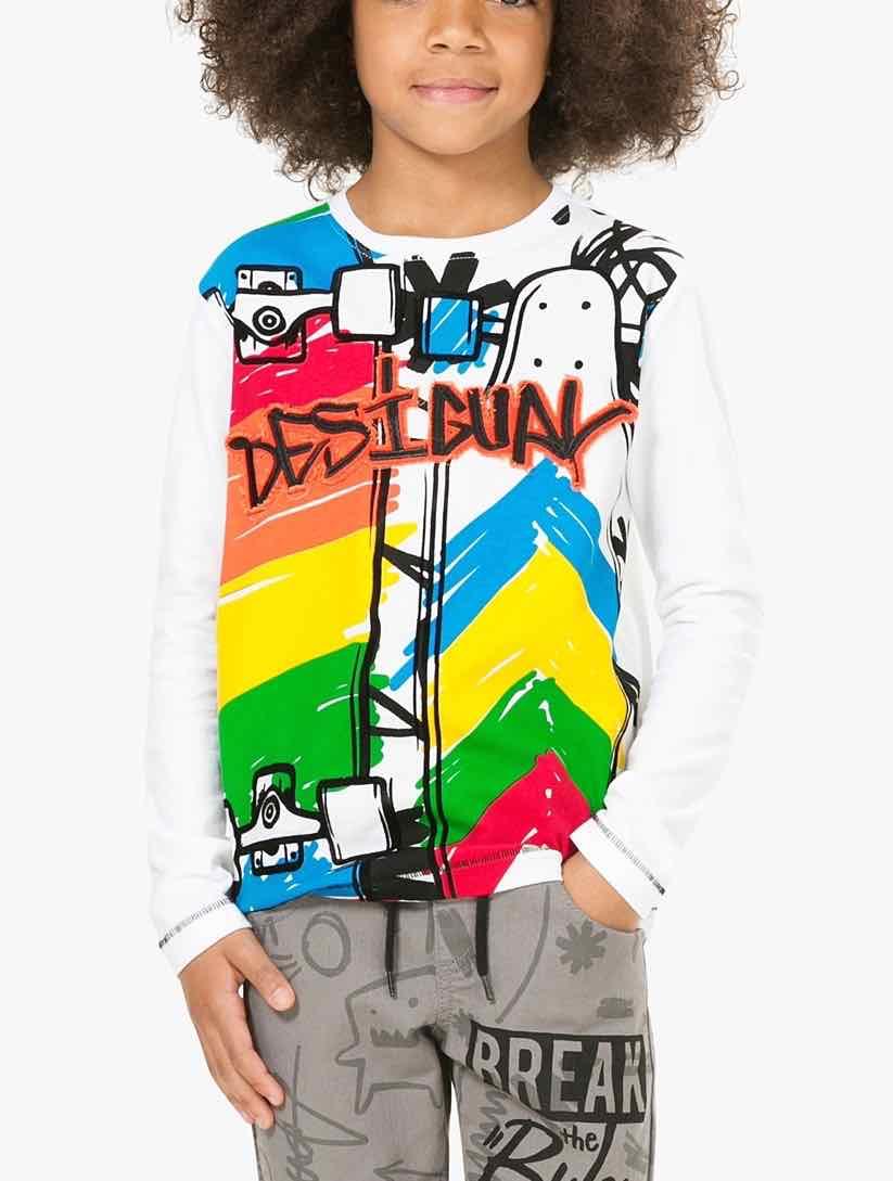 67T36A4_1000 Desigual Boy TShirt Lenny Buy Online