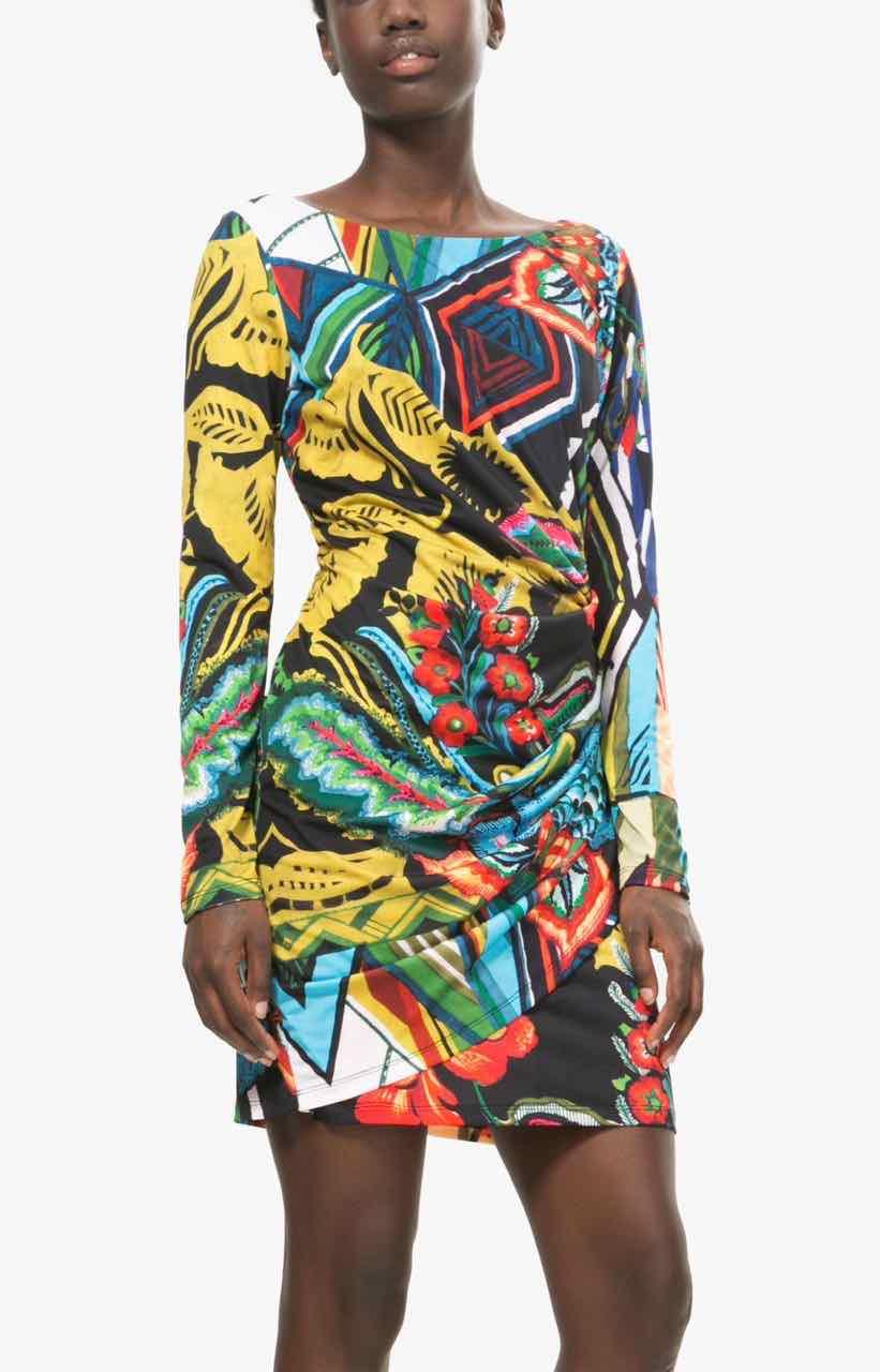Desigual Colourful Dress Rosita