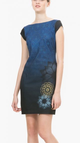 Desigual Blue Dress Pichi Electra