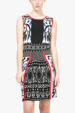 "Desigual Lacroix Dress ""Bernardino"" Fall Winter 2016-17"