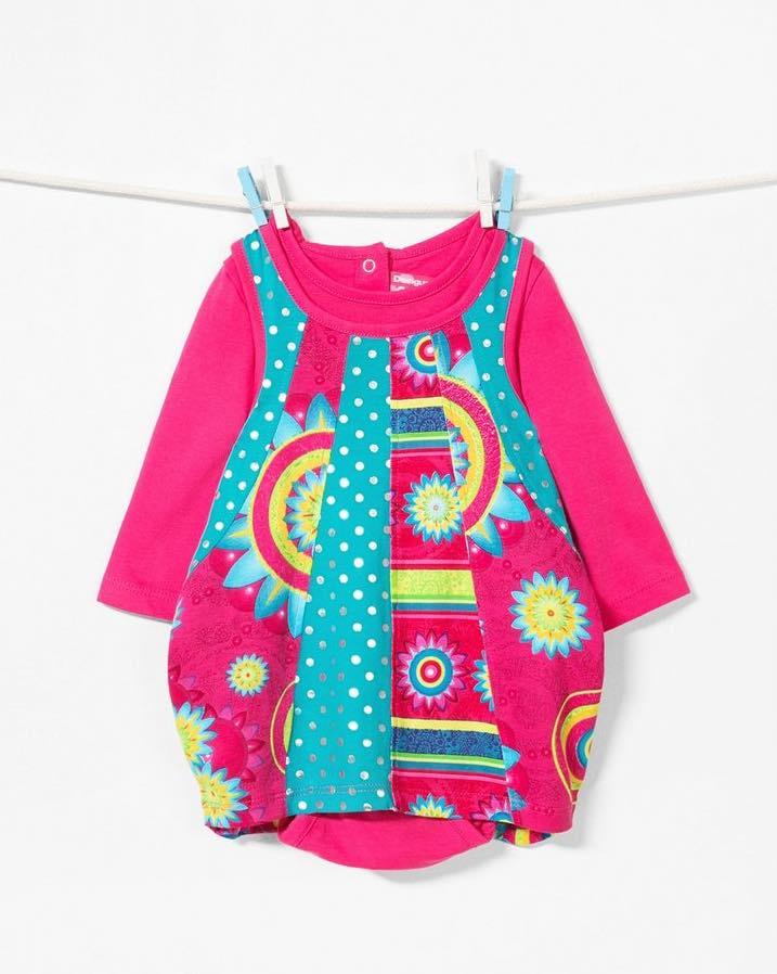 67V38A5_3022 Desigual Baby Girl Dress Maricarmen Buy Online
