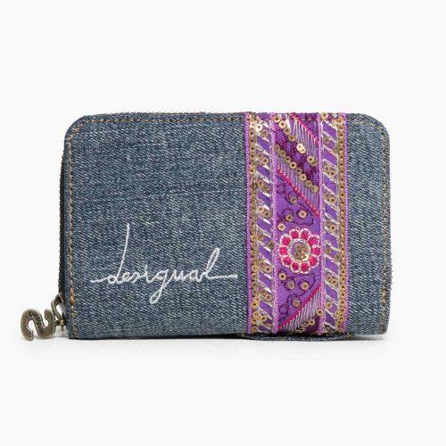 67Y53F4_5001 Desigual Wallet Magnetic Ethnic Deluxe Buy Online