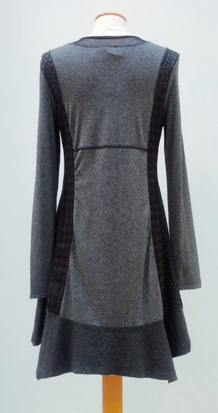 Angels Never Die Anthracite Dress