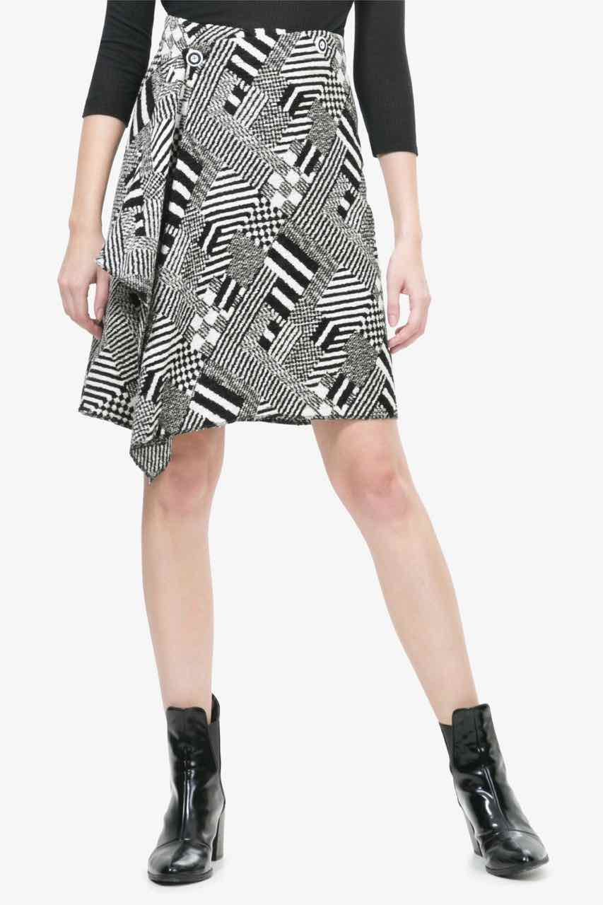 Desigual Lacroix Perfectly Imperfect Skirt