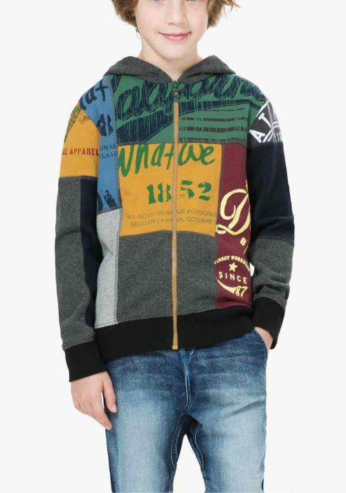 67S36L3_2043 Desigual Boy Sweater Henry