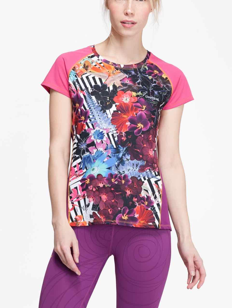 67T2SA0_3125 Desigual Sport T-Shirt A-T-S Short Sleeve