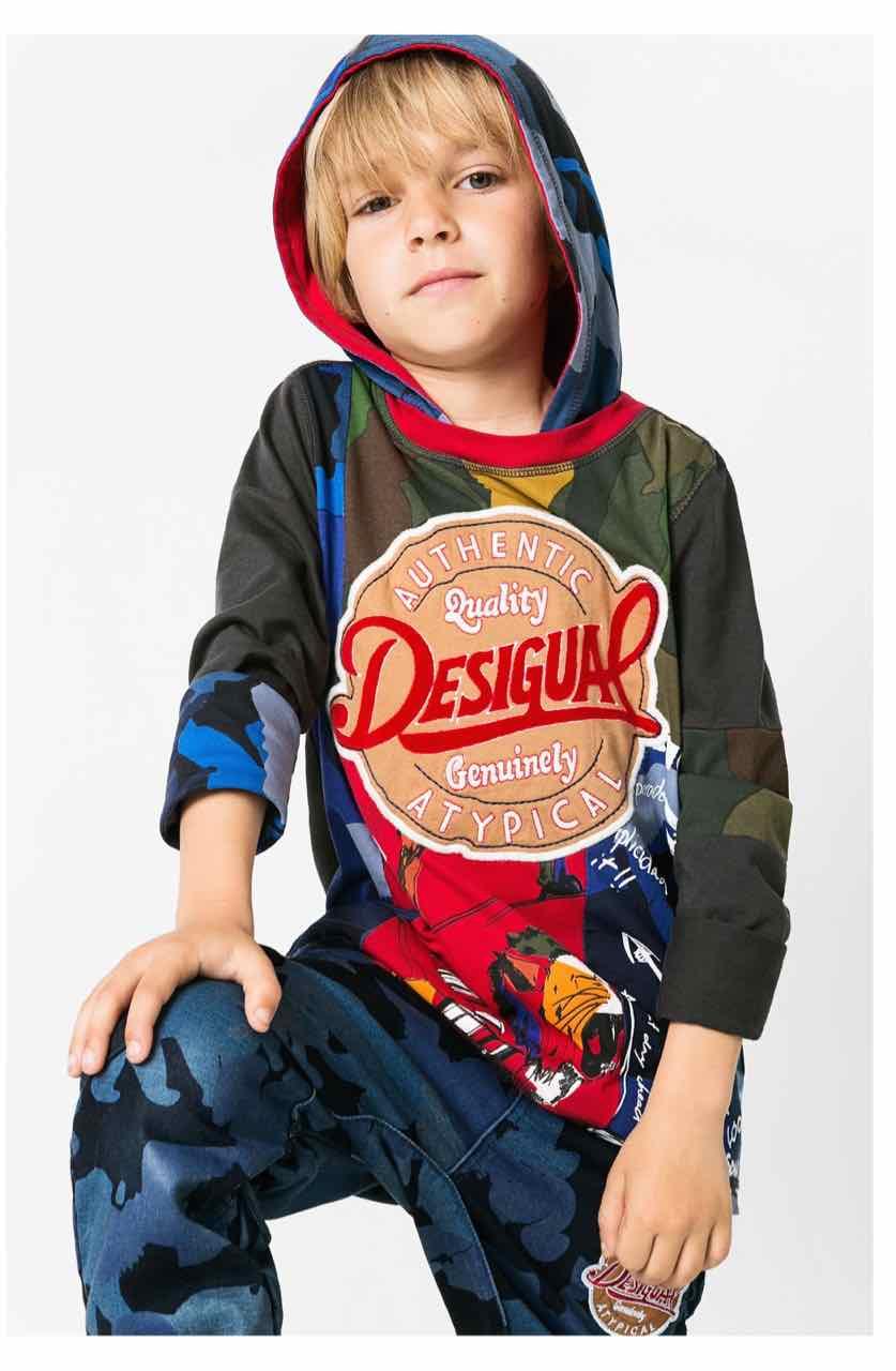 67T36B5_2067-Desigual Boy T-Shirt Angel