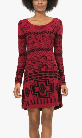 Desigual Red Dress Edith, Canada
