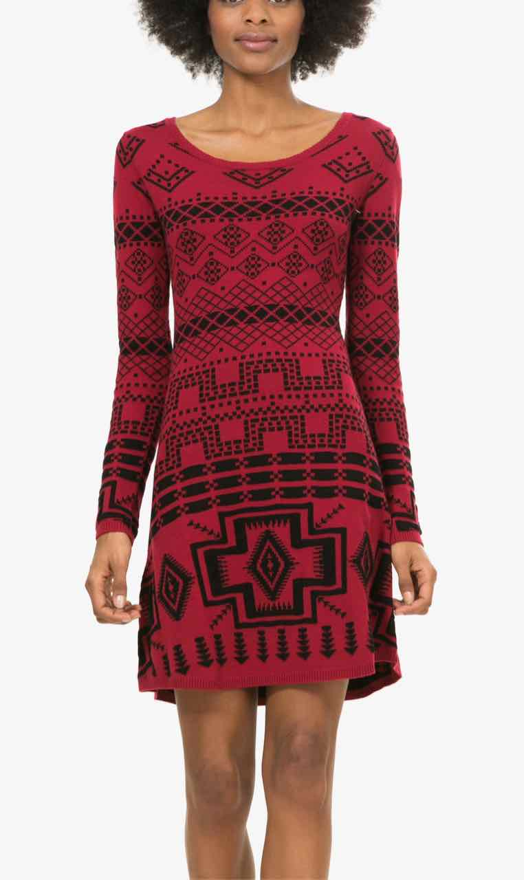 Desigual Red Dress Edith, Canada