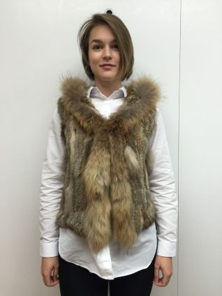M Made in Italy, Buy Online Fur Vest