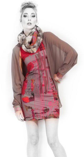 VOLT Design Dress 332, Pink