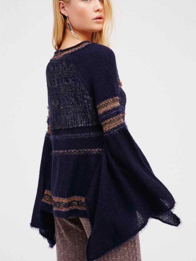 Free People Bell Sleeves Sweater