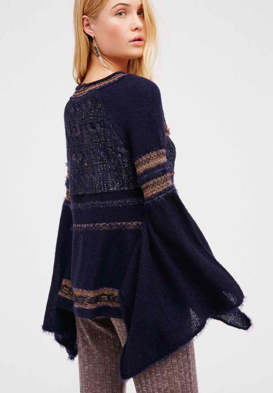 Free People Bell Sleeves Sweater