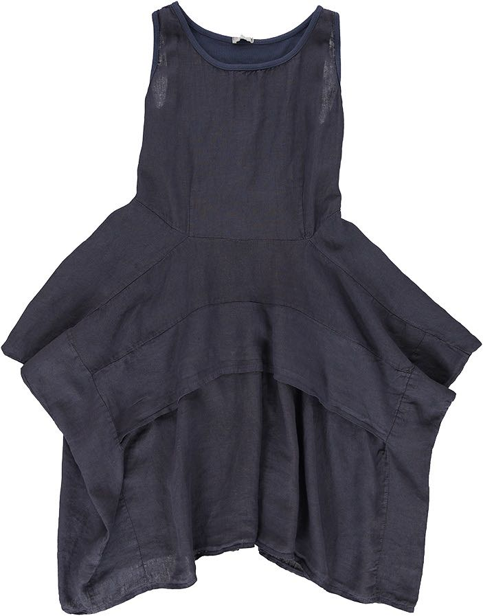 M Made In Italy Dress Navy 19 70206g Canada Usa