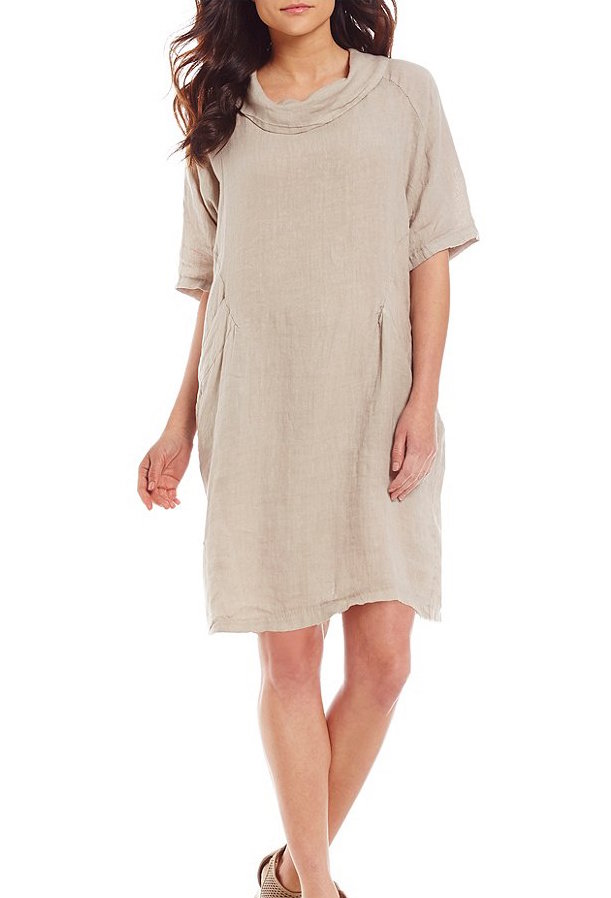 M made in italy dress beige 19 70266g canada usa for Shirts made in italy