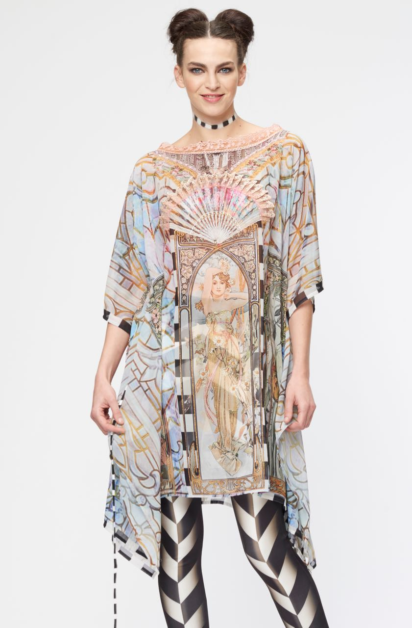 IPNG Chiffon Tunic End of Nouveau