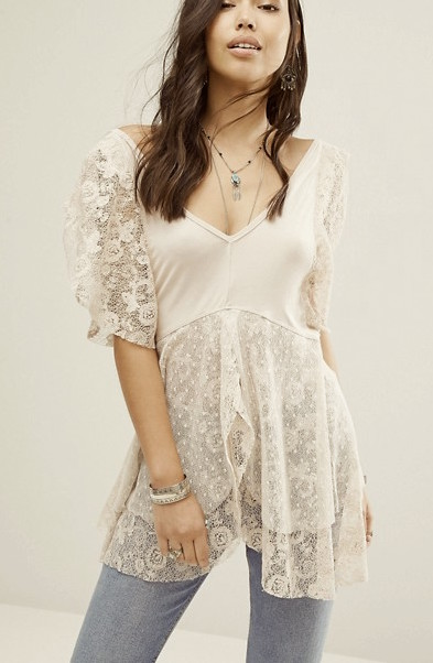 Free People Lace top, buy online