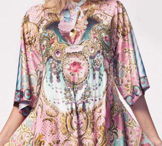 IPNG Shawl Long Dress