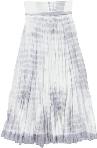 M Made in Italy 18-8097G LGrey Skirt