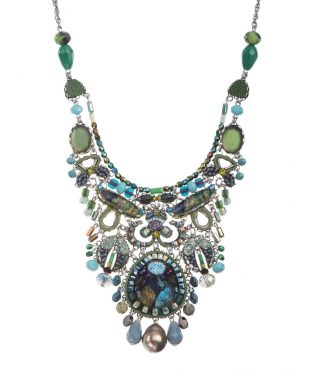 Ayala Bar Big Necklace Turquoise Mist