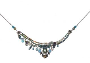 Ayala Bar Necklace Turquoise Mist