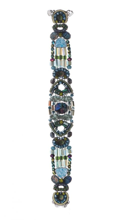 Ayala Bar Bracelet, Classic Black and Blue
