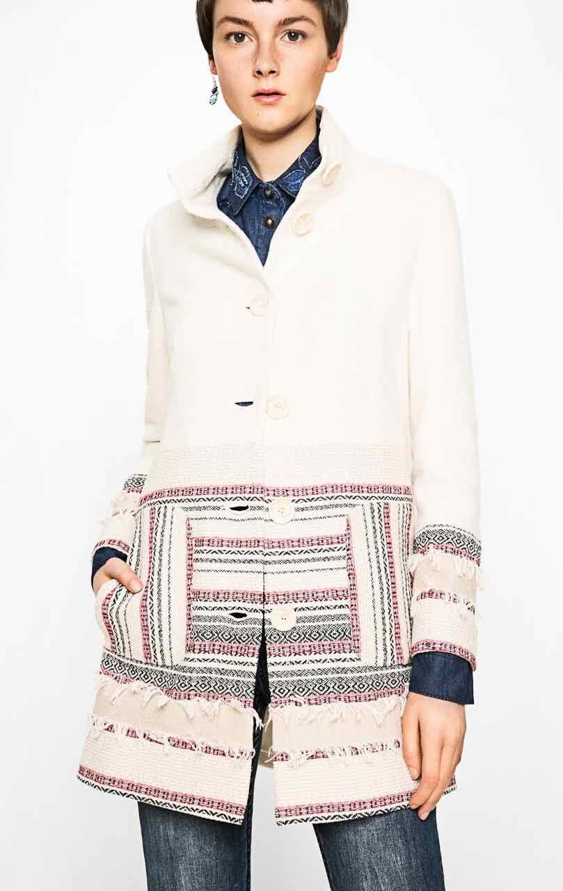 71E2YK9_1001 Desigual Coat Asha Buy Online