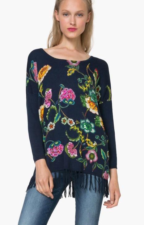 71J2EA5_5001 Desigual Sweater Yovana Buy Online
