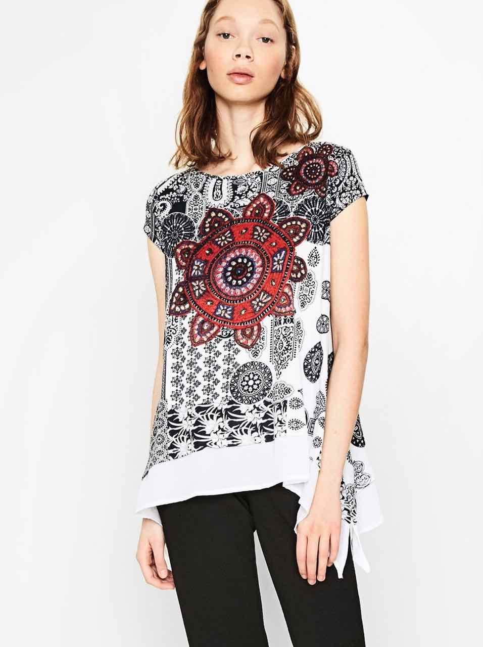 Desigual Top Bandy