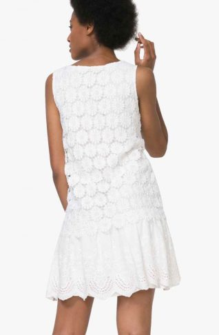 Desigual White Lace dress, Buy Online