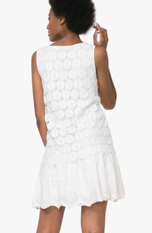 Desigual White Lace dress, Buy Online
