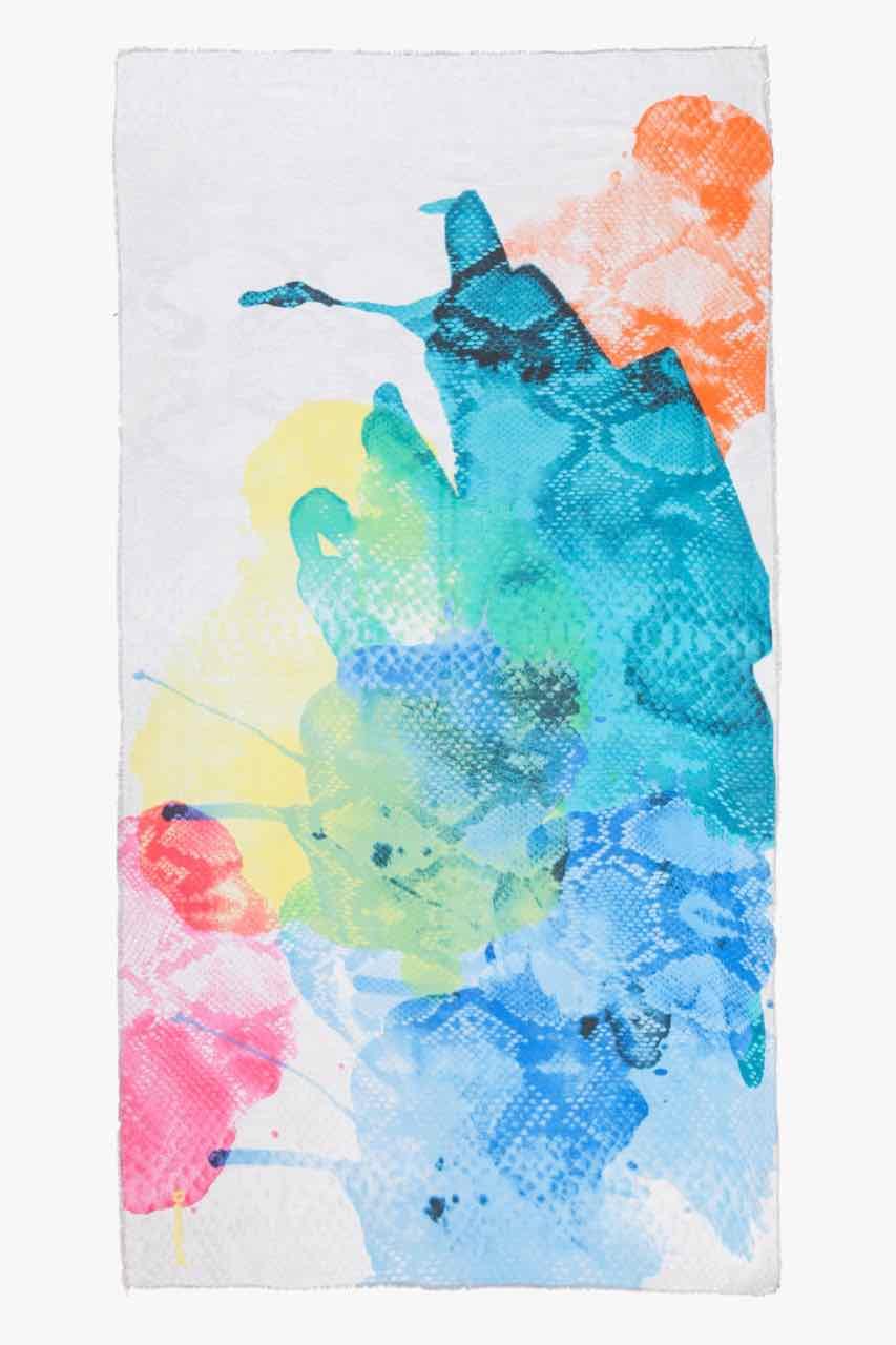 72W9EG9_1000 Desigual Scarf Aquarelle Soft Buy Online