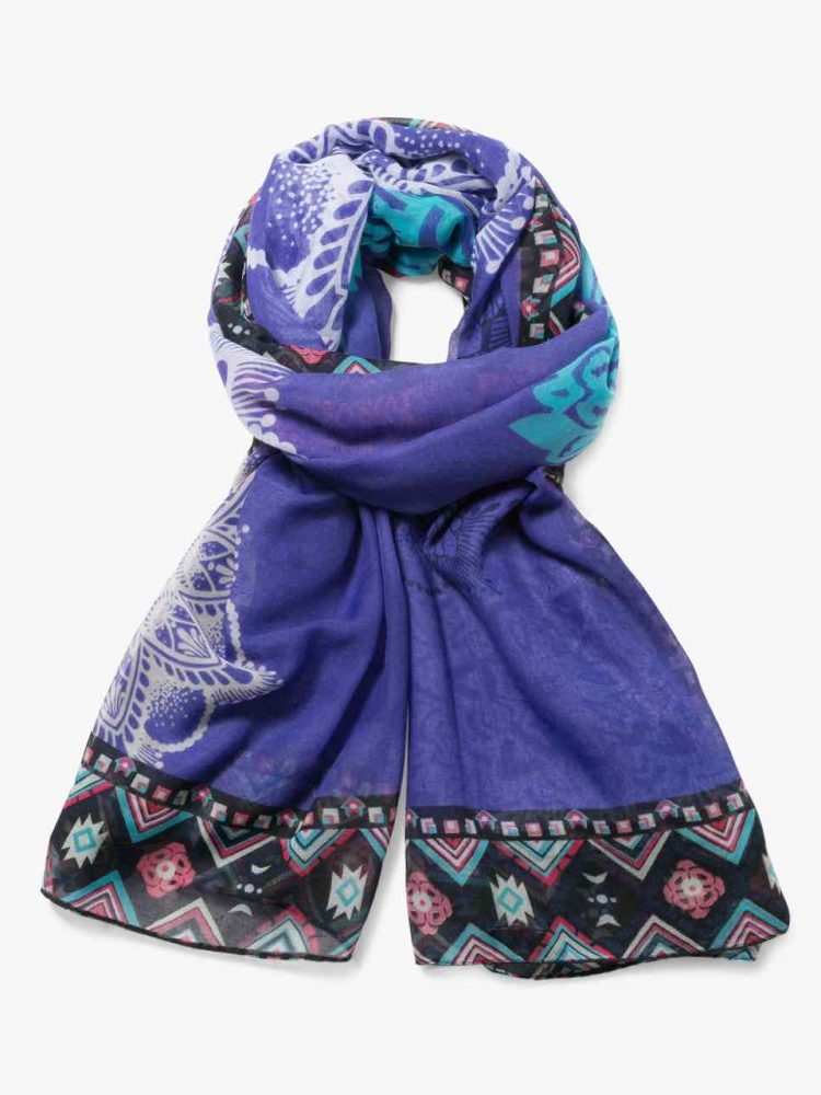 72W9EH6_5006 Desigual Scarf Rectangle New Emma Buy Online