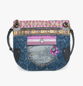 72X9JG9_5001 Desigual Bag Brooklyn Exotic Jean Buy Online